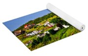 Fishing Village In Newfoundland Yoga Mat