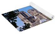 Notre Dame Cathedral Paris France Yoga Mat