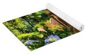 Tuscan Garden Yoga Mat