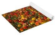 Flower Fields Yoga Mat