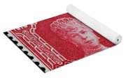 old New Zealand postage stamp Yoga Mat