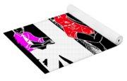 Art Deco Image Yoga Mat