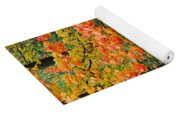 A Blustery Autumn Day Yoga Mat