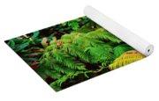 A Mass Of Ferns Yoga Mat