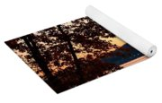 A Soothing Sunset Yoga Mat