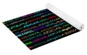 Abigail Text Design I Yoga Mat