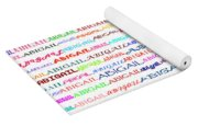 Abigail Text Design II Yoga Mat