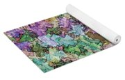 Abstract Colors Pale Yoga Mat