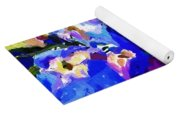 Abstract Floral 031112 Yoga Mat