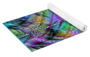 Abstract In Chalk Yoga Mat