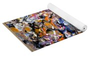 Abstract Interconnection Yoga Mat