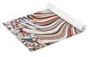 Abstract Seashells Yoga Mat