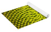 Abstract Sunflower Pattern Yoga Mat