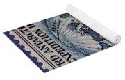 Admiral Richard Byrd Postage Stamp Yoga Mat