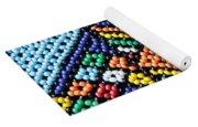 African Beadwork 2 Yoga Mat