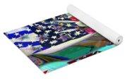 American Flag 2 Yoga Mat