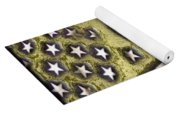 American Streets Of Gold Yoga Mat