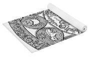 Arabic Zodiac Yoga Mat