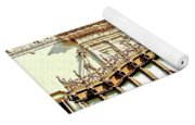 Architectural Detail New Orleans Yoga Mat