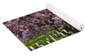 Arlington Cherry Trees Yoga Mat