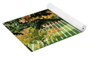 Arlington National Cemetery In The Fall  Yoga Mat