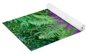 Astilbe And Ferns Yoga Mat