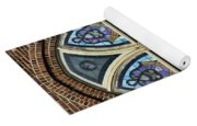 Athens Alabama First Presbyterian Church Stained Glass Window Yoga Mat