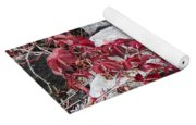 Autumn Color Is Red Yoga Mat
