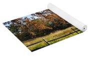 Autumn Field In Pennsylvania Yoga Mat