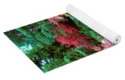 Autumn Garden Waterfall I Yoga Mat