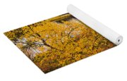 Autumn In Inari Yoga Mat