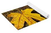 Autumn Ladybugs Yoga Mat