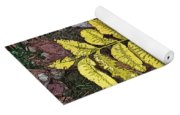 Autumn Leaf Art I Yoga Mat