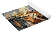 Autumn Leaves Tiny Dam Yoga Mat