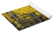 Autumn Stream V Yoga Mat