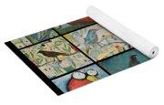 Aviary Poster Yoga Mat