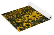Balsamroot Field In Grand Teton Yoga Mat