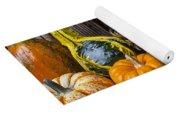 Basket Full Of Gourds Yoga Mat