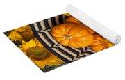 Basket Full Of Small Pumpkins Yoga Mat
