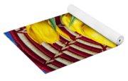 Basket Full Of Tulips Yoga Mat