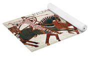 Battle Of Hastings Bayeux Tapestry Yoga Mat