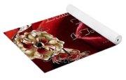Beautiful Valentine Yoga Mat