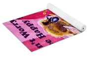 Bee Happy  Yoga Mat