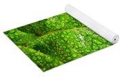 Bejewelled By Rain  Yoga Mat
