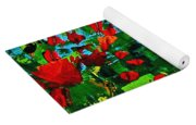 Beneath The Autumn Tree Yoga Mat