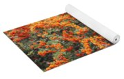 Berry Orange Yoga Mat
