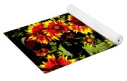 Blanket Flowers Yoga Mat