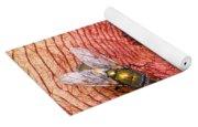 Blowflies On Stapelia Yoga Mat