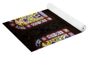 Blue Mosque Stained Glass Windows Yoga Mat