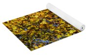 Branches Of Gold Yoga Mat
